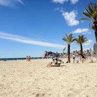 Photo taken at Platja de Ponent by Enrique P. on 4/7/2012