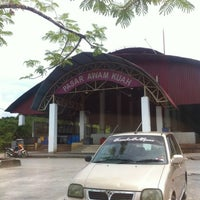 Photo taken at Kuah Market, Langkawi by Pishol I. on 8/26/2012