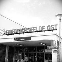 Photo taken at S Friedrichsfelde Ost by Marco K. on 6/17/2012