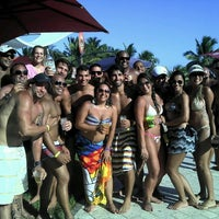 Photo taken at Paparazzi Beach Club by David D. on 2/12/2012