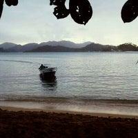 Photo taken at Isla Grande Colon by Gaby B. on 1/1/2012