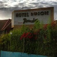 Photo taken at Hotel Bosque Dorado by Jorvic on 6/15/2012