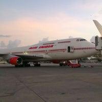 Photo taken at Chhatrapati Shivaji International Airport (BOM) by Varun M. on 6/4/2012