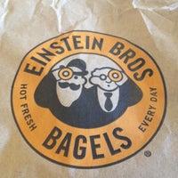 Photo taken at Einstein Bros Bagels by Deanna B. on 6/7/2012