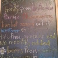 Photo taken at Black Bear Burritos by Travel Green Appalachia on 11/16/2011