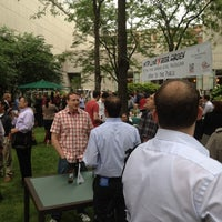 Photo taken at With Love Beer Garden at the Four Seasons Hotel Philadelphia by Nino V. on 6/5/2012