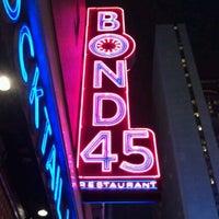 Photo taken at Bond 45 by Joy S. on 12/30/2011