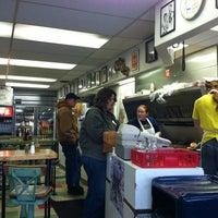 Photo taken at Krazy Jim's Blimpy Burger by Stephanie H. on 3/30/2012