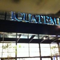 Photo taken at Shopping Iguatemi by Ricarte D. on 7/29/2011