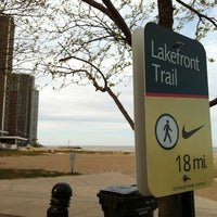 Photo taken at Chicago Lakefront Trail by Richard B. on 4/21/2012