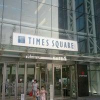 Photo taken at Times Square by daikyu k. on 9/1/2011