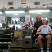 Photo taken at Chet Farley's Barber Shop by Tim L. on 4/28/2011