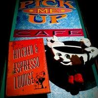 Photo taken at Pick Me Up Café by Jordan S. on 8/25/2011