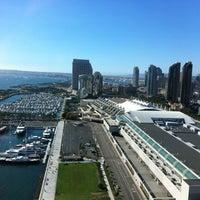 Photo taken at Hilton San Diego Bayfront by Ryan N. on 9/1/2012