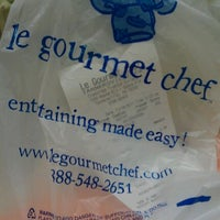 Photo taken at Le Gourmet Chef by Brandi P. on 11/18/2011