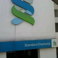 Photo taken at Standard Chartered Bank by Mikaielle on 10/14/2011