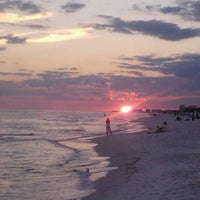 Photo taken at Destin Beach by Valerie R. on 9/11/2012