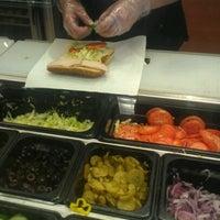 Photo taken at Subway by Kristen E. on 8/24/2012