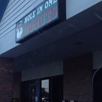 Photo taken at Hole In One Donuts by Karen B. on 5/9/2012