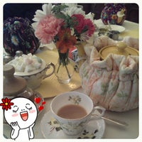 Photo taken at Teaberry's Tea Room by Brenda H. on 5/2/2012