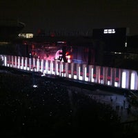 Photo taken at Roger Waters: The Wall by Bill S. on 7/8/2012
