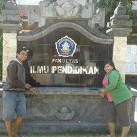 Photo taken at Undiksha by Indah P. on 8/21/2011