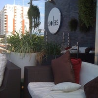 Photo taken at Solas Lounge & Rooftop Bar by Victoria K. on 7/12/2011