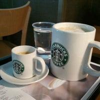Photo taken at Starbucks by Giannis K. on 1/31/2012