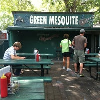 Photo taken at Green Mesquite BBQ by Kimball A. on 8/22/2011
