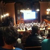 Photo taken at Finney Chapel by Zoe M. on 4/18/2012