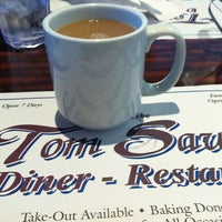 Photo taken at Tom Sawyer Diner by Geneo on 4/22/2012