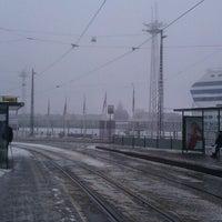 Photo taken at HSL 0435 Olympialaituri by Igor V. on 3/10/2012