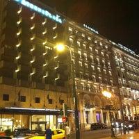Photo taken at NJV Athens Plaza Hotel by Alejandro D. on 6/28/2012