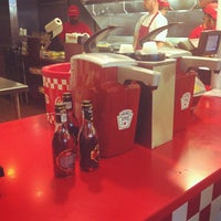Photo taken at Five Guys by Jimmy S. on 9/8/2012
