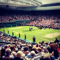 Photo taken at Centre Court by Omid A. on 7/8/2012