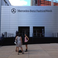 Photo taken at Mercedes-Benz Fashion Week by Laurice on 9/9/2012