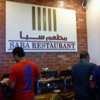 Photo taken at Saba Restaurant by Syazwan M. on 8/13/2012