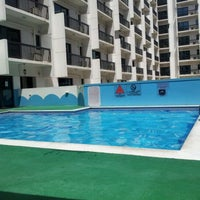Photo taken at Golden Sands Hotel Apartment (Swimming Pool) by Deng L. on 5/12/2012