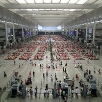 Photo taken at Shanghai Hongqiao Railway Station by Richard Y. on 7/1/2012