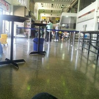 Photo taken at Aeropuerto Internacional Arturo Michelena (VLN) by Yndhira C. on 8/15/2012