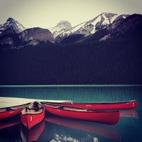 Photo taken at Lake Louise by Yi Z. on 7/13/2012