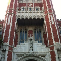 Photo taken at Bizzell Memorial Library by Ashley W. on 7/26/2012
