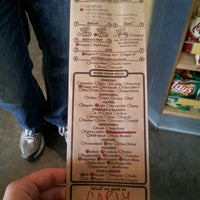 Photo taken at Which Wich Superior Sandwiches by Carly T. on 4/2/2012