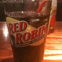 Photo taken at Red Robin Gourmet Burgers by Jane L. on 1/8/2012