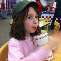 Photo taken at Five Guys by Donald F. on 12/31/2011