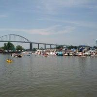 Photo taken at Chesapeake Inn Restaurant & Marina by geoff A. on 6/30/2012