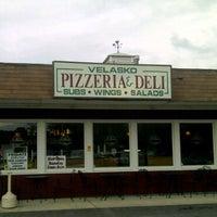 Photo taken at Velasko Pizzeria & Deli by Kevin M. on 5/23/2011