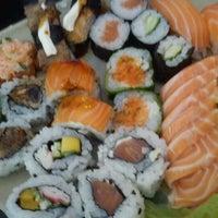 Photo taken at Oishii Sushi by Chris M. on 11/25/2011