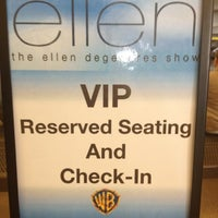 Photo taken at The Ellen DeGeneres Show by Justin K. on 3/7/2012