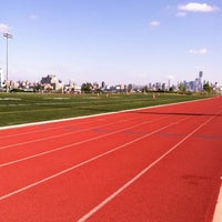 Photo taken at Weehawken Waterfront Park and Recreation Center by Hannah D. on 6/17/2012